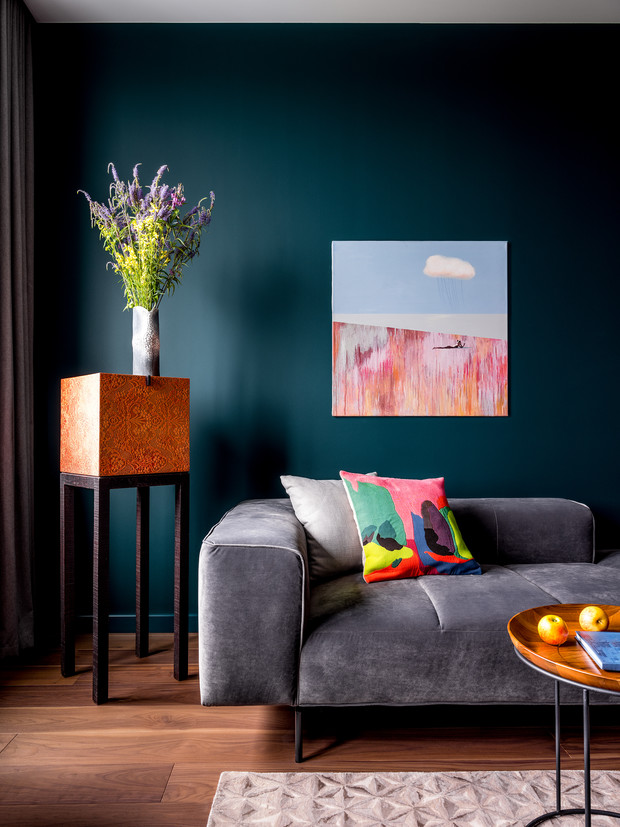 Фото №7 - Современная квартира со свободной планировкой 120 м²