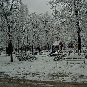 Фото №1 - Испанию завалило снегом и градом