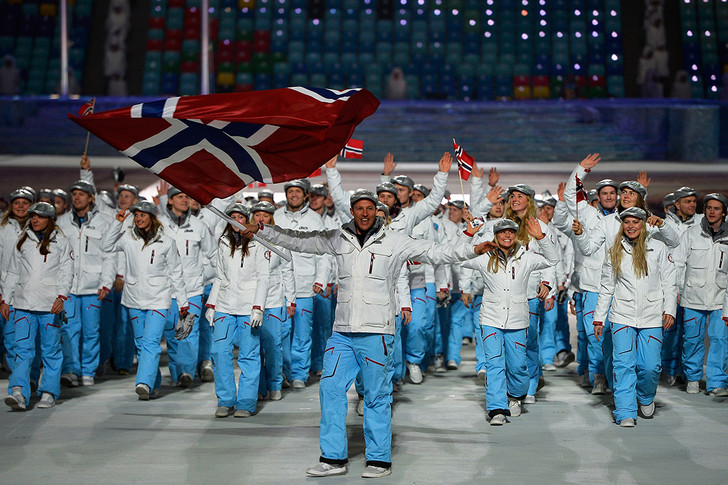 Олимпиада, Олимпийские игры, Сочи-2014, Норвегия