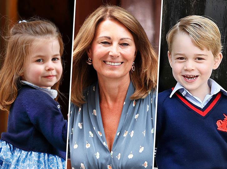 Фото №1 - Кэрол Миддлтон приобщает внуков Джорджа и Шарлотту к семейному делу