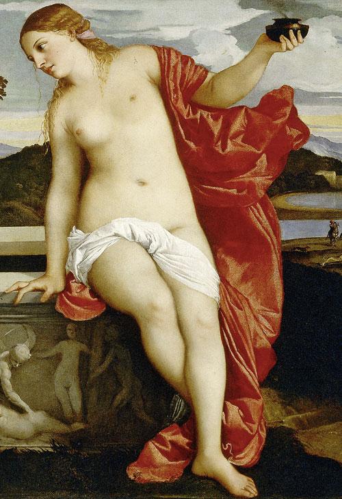 Фото №6 - 10 символов, зашифрованных в картине «Любовь небесная и Любовь земная»