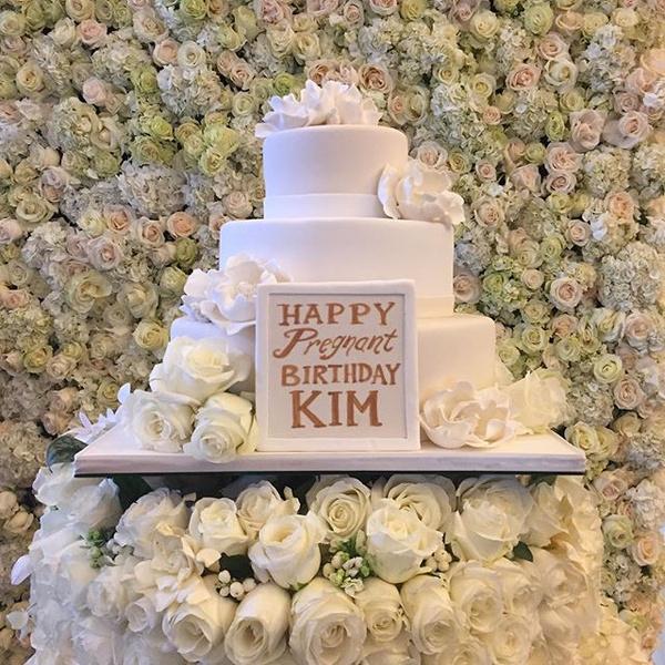 Фото №1 - So cute! Канье устроил вечеринку в честь дня рождения Ким