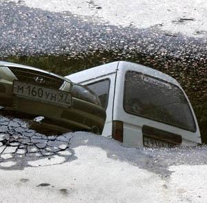 Фото №1 - Провал на Мясницкой улице