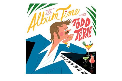 Обложка альбома Todd Terje «It's Album Time»