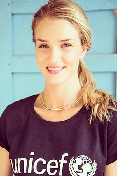 Роузи Хантингтон-Уайтли (Rosie Huntington-Whiteley), UNICEF