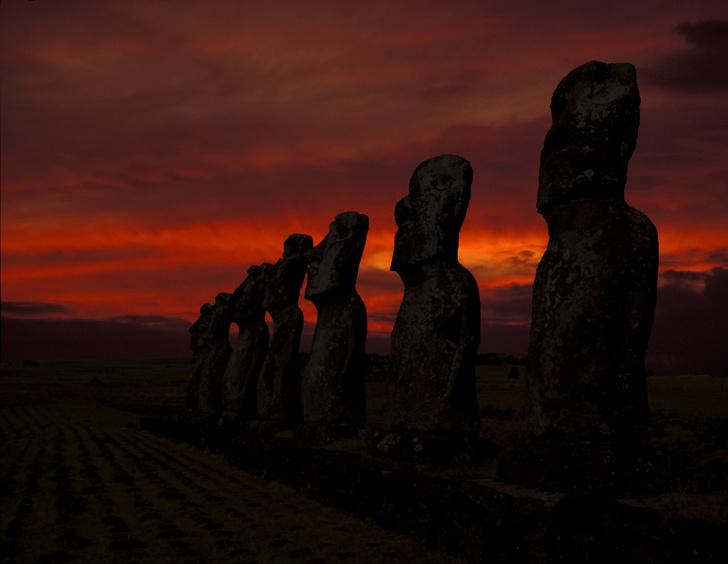 Фото №1 - Ученые усомнились в причинах исчезновения цивилизации острова Пасхи