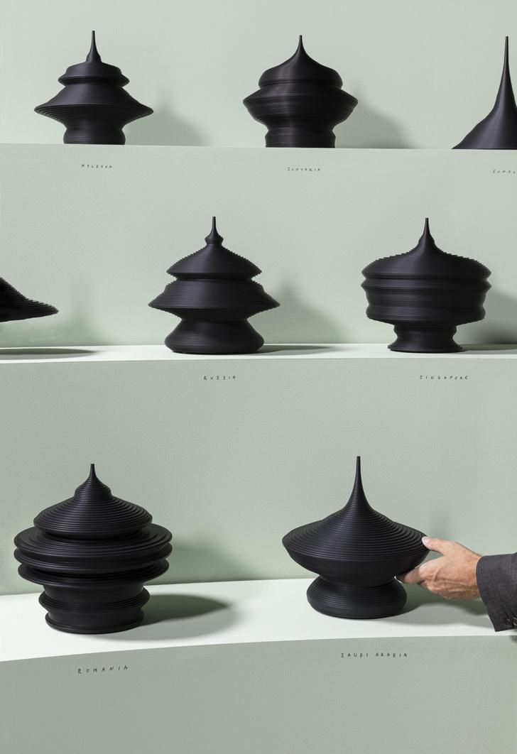 Фото №5 - Популяционные пирамиды Матье Леаннера на Art Basel