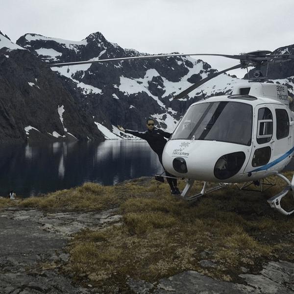 Фото №12 - Звездный Instagram: Знаменитости и самолеты