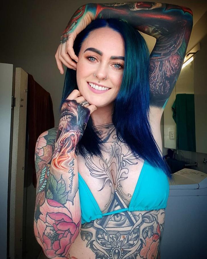 Фото №6 - Самые татуированные люди, которые смогли найти нормальную работу (фото)