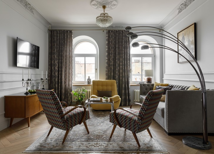 Фото №2 - Атмосферная квартира в доходном доме XIX века в Санкт-Петербурге