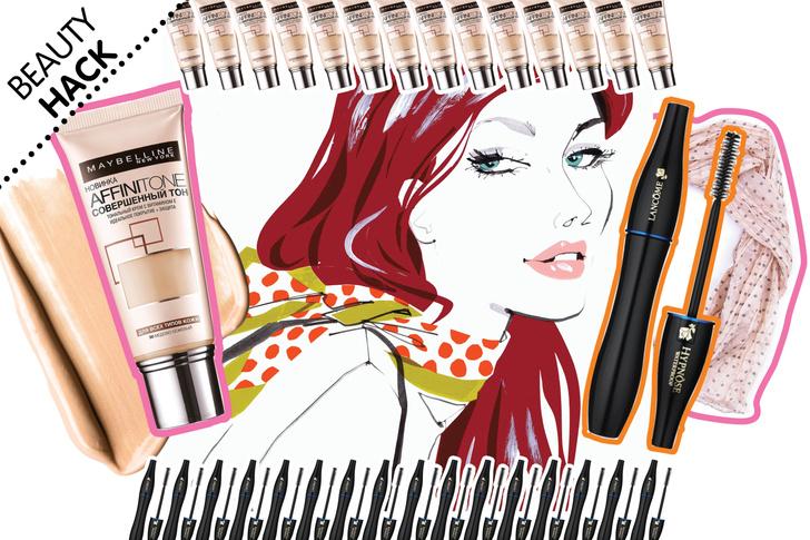 Фото №1 - Beauty Hack: Как снять одежду и не испачкать ее макияжем