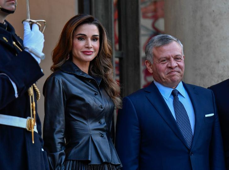 Фото №2 - Рания в Париже: как Брижит Макрон принимала королеву Иордании