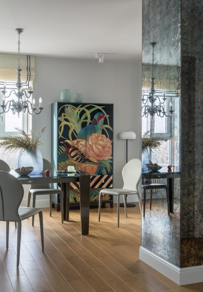 Фото №3 - Петербургская квартира с яркими деталями