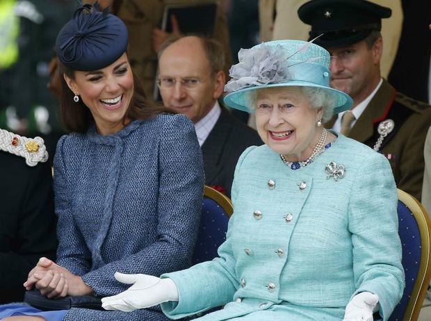 Фото №1 - Будущая королева: почему Кейт больше похожа на Елизавету, чем на Диану
