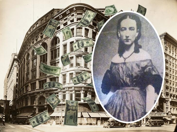 Фото №1 - Безумие Иды Вуд: почему американская миллионерша на 25 лет заперлась в номере отеля