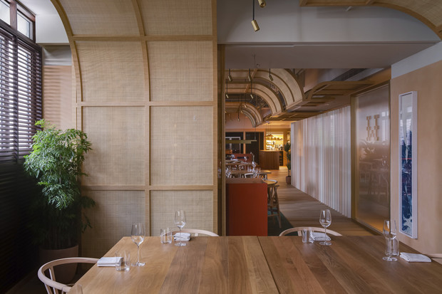Фото №4 - Ресторан Whey в Гонконге по проекту Snøhetta