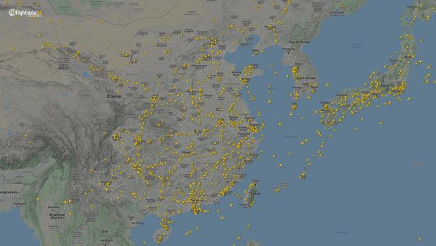 Фото №7 - Как изменился авиатрафик в разных регионах мира во время пандемии