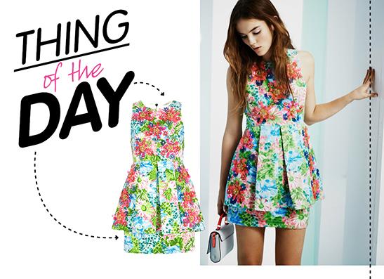 Фото №1 - Вещь дня: платье с аппликацией