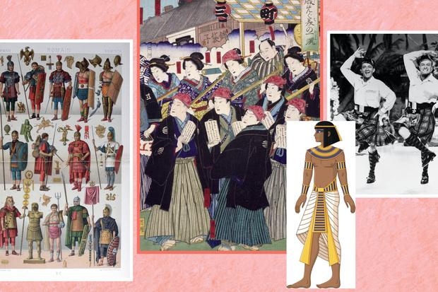 Фото №4 - Эволюция моды: как мужское стало женским