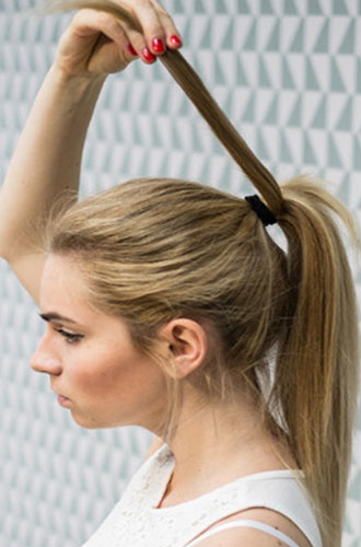 Фото №9 - Как сделать идеальный конский хвост: фото-инструкция