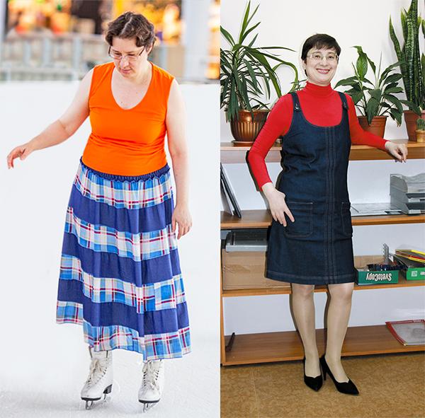 До и после: Елена год назад и сегодня