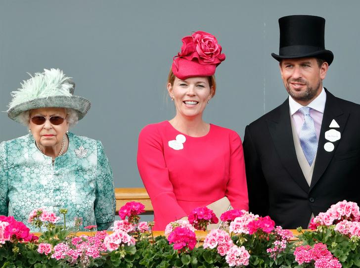 Фото №1 - Как Королева отреагировала на развод своего старшего внука