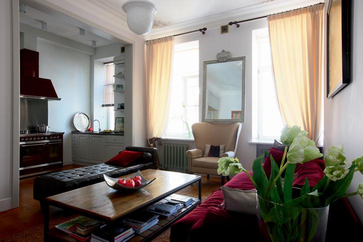Фото №1 - Из архивов ELLE DECORATION: московская квартира Софико Шеварнадзе