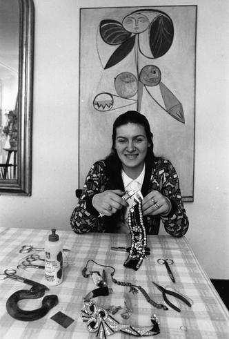 Фото №3 - Дочь своего отца: как Палома Пикассо не стала великой художницей, но покорила мир моды