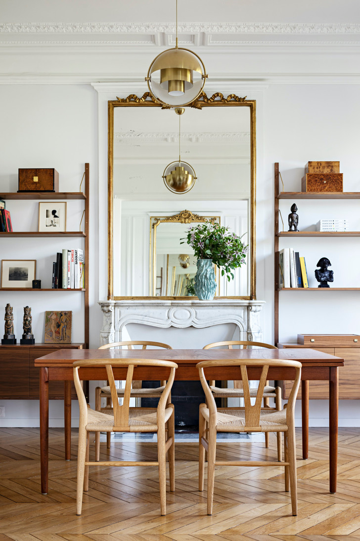 Фото №3 - Квартира с золотыми акцентами в Париже