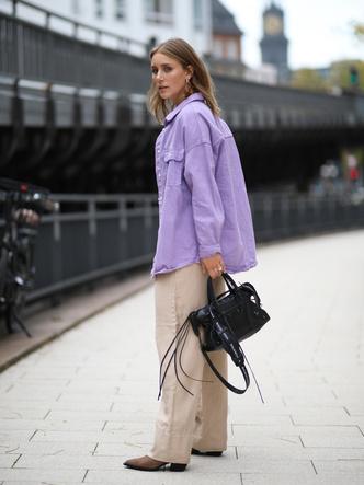 Фото №14 - Горная лаванда: 5 способов носить самый романтичный цвет