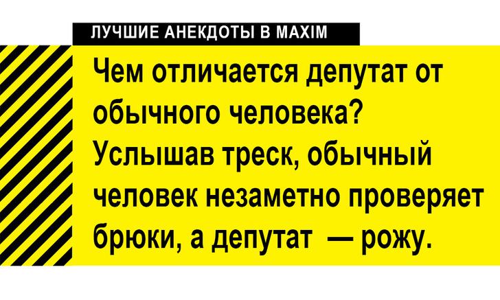 Фото №1 - Лучшие анекдоты про депутатов и Госдуму