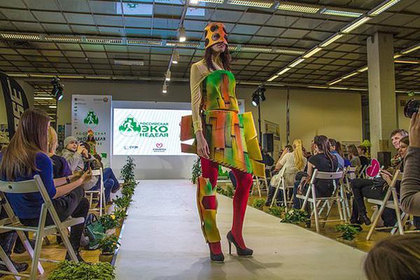 Фото №2 - Театр моды Артура Браже выступил на Экологической неделе в Москве