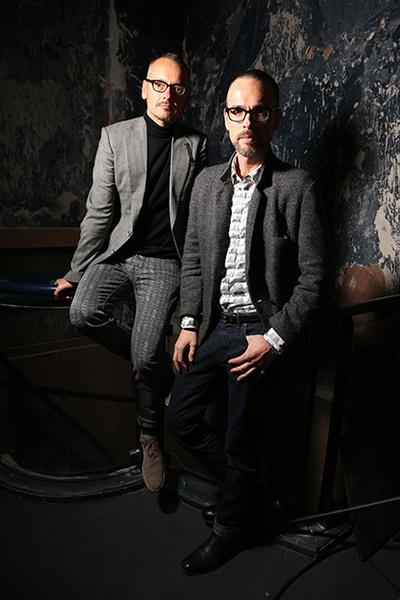 Фото №1 - Интервью с дизайнерами Viktor&Rolf