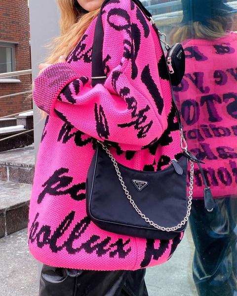 Фото №2 - С чем сочетать розовый цвет, чтобы создать дерзкий образ: лайфхаки от Кати Адушкиной