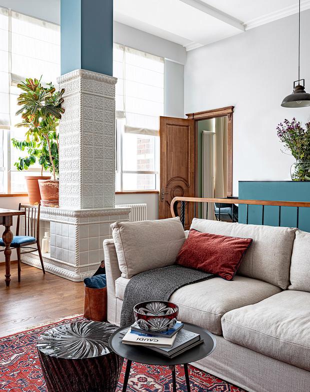 Фото №4 - Двухэтажный пентхаус в стиле бохо в Перми