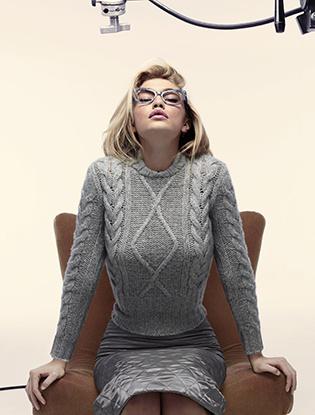 Джиджи Хадид в рекламной кампании Max Mara
