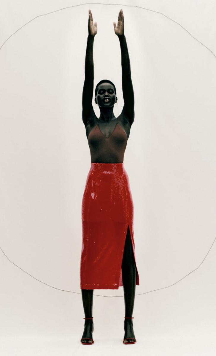 Фото №3 - Это все о страсти: Zara выпустила коллекцию полностью в красном цвете