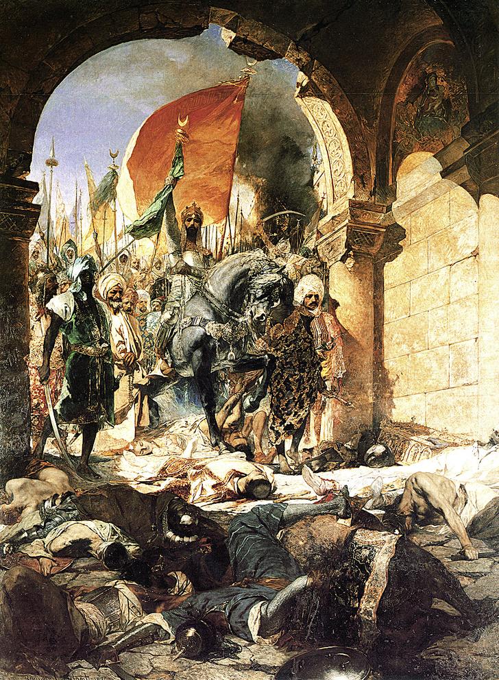 Фото №2 - 565 лет назад... Пал Константинополь