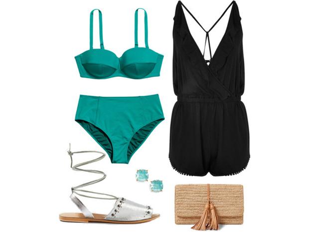 Фото №1 - Цвет настроения синий: отпускной гардероб в стиле Жасмин