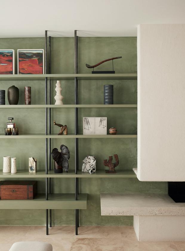 Фото №7 - Стеллаж в гостиной: лучшие идеи и решения