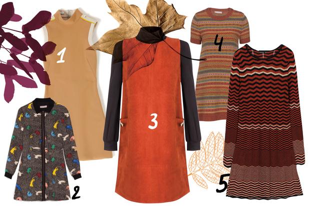 Фото №2 - Топ-10: «Зимние» платья