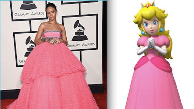 Фото №2 - Модный приговор: Рианна черпает вдохновение для нарядов у Mario