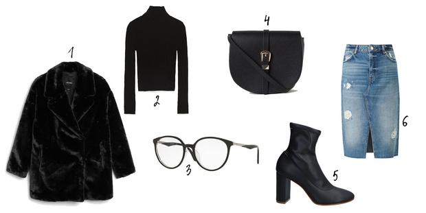 Фото №4 - Как носить деним зимой: 6 стильных образов на любой вкус