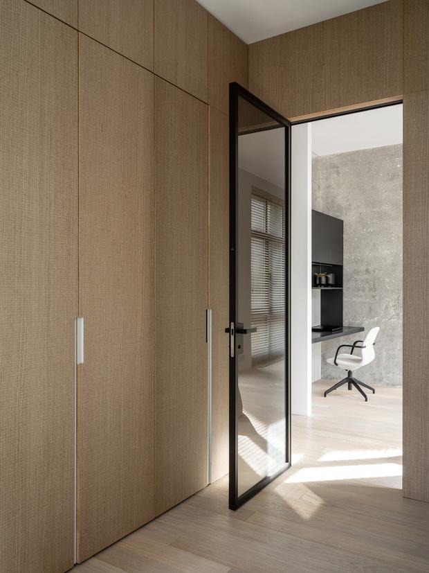 Фото №16 - За бетонной стеной: архитектурная квартира 125 м² в Москве