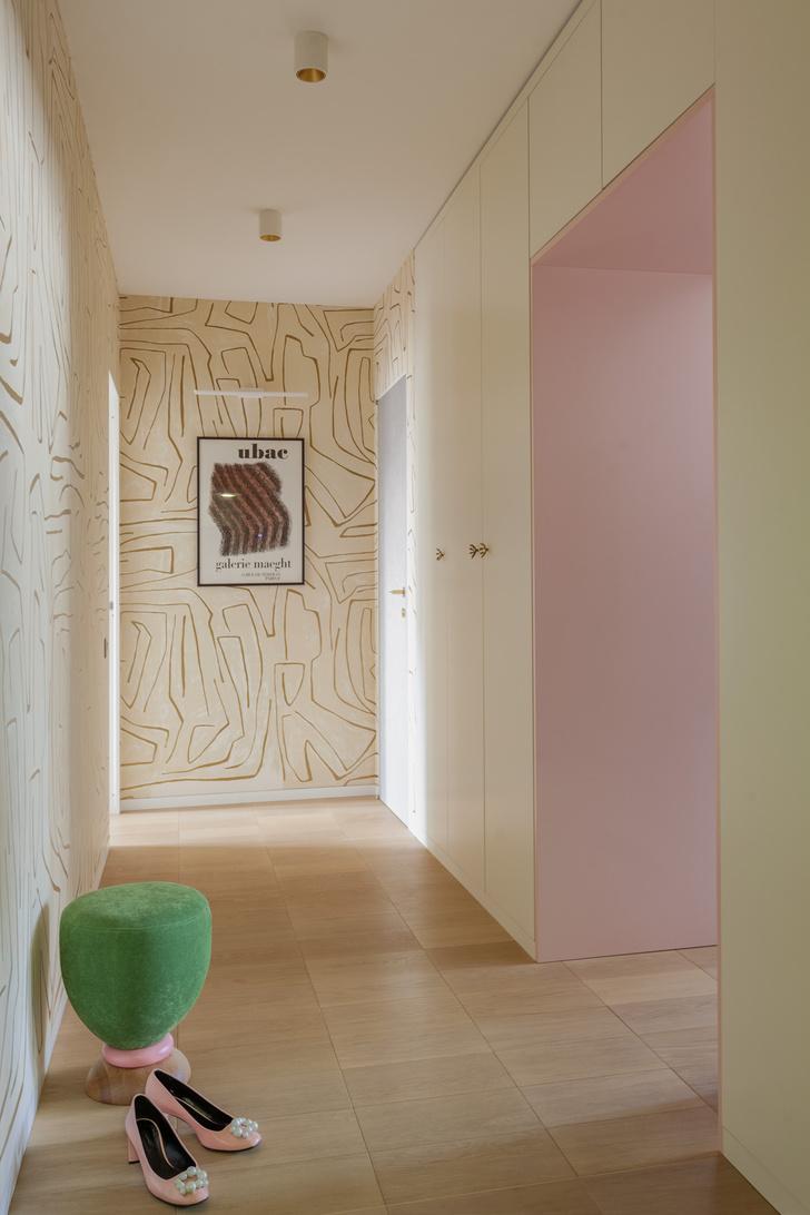Фото №8 - Светлая квартира 64 м² с золотыми акцентами