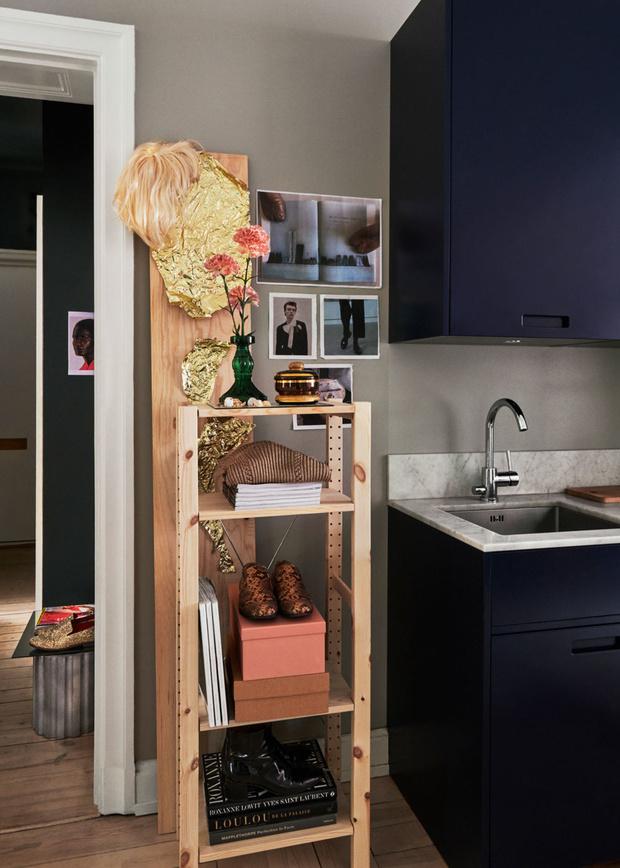 Фото №4 - Квартира с винтажной мебелью в Стокгольме