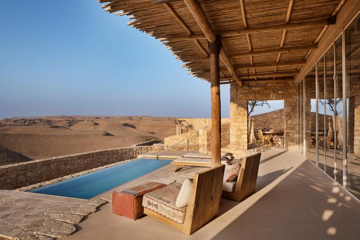Фото №1 - Песчаный замок: отель в пустыне Негев