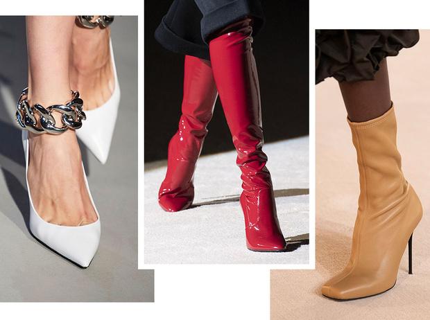 Фото №1 - Самая модная обувь осени и зимы 2020/21