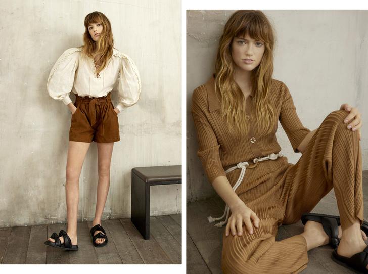 Фото №1 - Стильная путешественница: женственные блузы и легкие платья из новой коллекции Claudie Pierlot