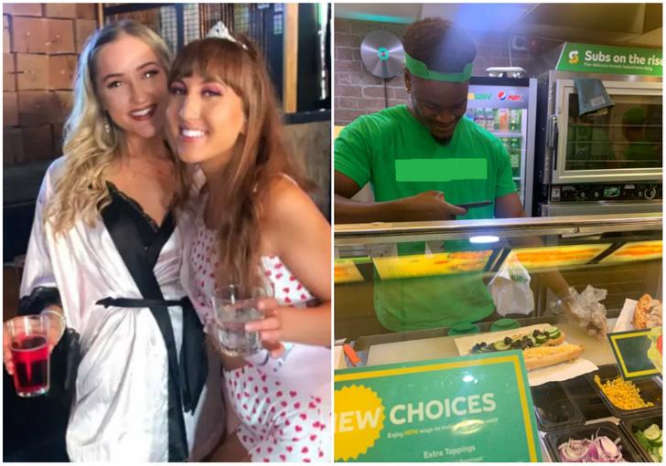 Фото №1 - «Пьяный» заказ девушки так удивил работников закусочной, что они его сфотографировали